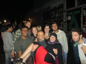 The U-Inn Berlin Hostel crew! Friedrichshian, Berlin, Germany