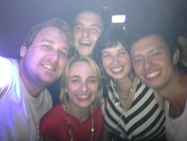 One of the best nights out on the town with new friends in Amsterdam!