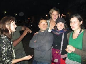 Friends in Berlin, Germany.