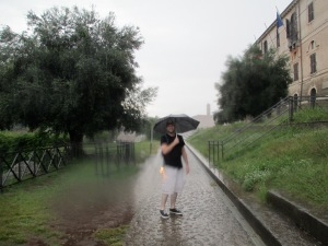 I met Ryan at my hostel in Rome, Italy. We spent a rainy afternoon exploring the ruins together. He was just as excited as I was to touch ancient rocks and frolic in the puddles underneath Roman arches. He lives in L.A. and I hope we meet again!