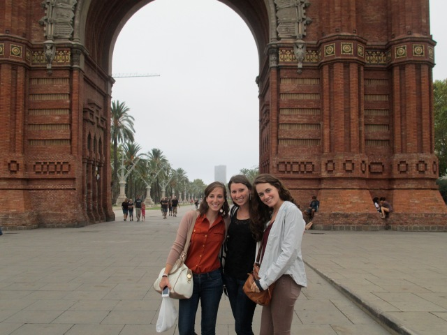 The girls from NYC I met in Barcelona, Spain. 24 hrs of friendship that left a lasting imprint. I hope to visit them!