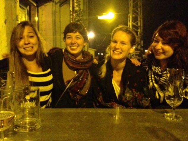 Girls night out - Prague, Czech Republic.