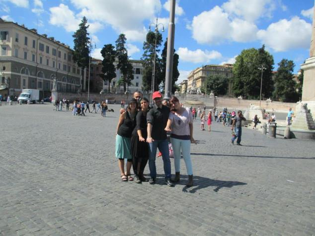 Critical City Mission in Rome, Italy with new friends.