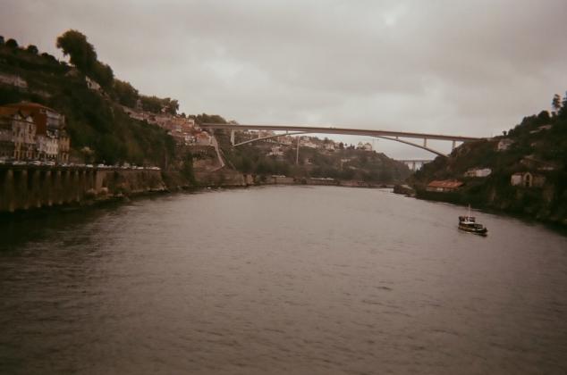 A bridge I walked across in Portugal.