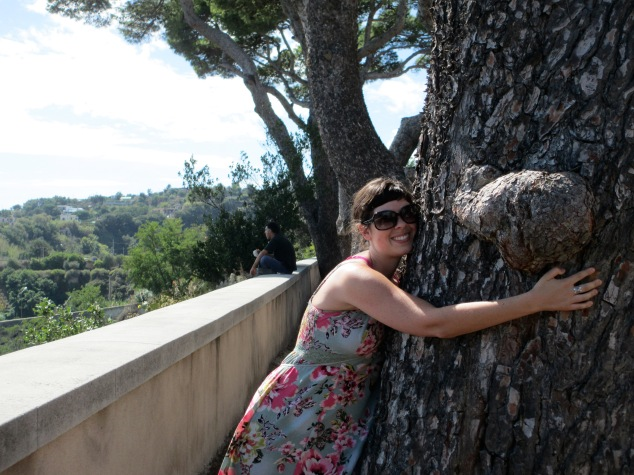 There's nothing in the world like a good tree hug! This photo was taken in Baia, Italy.