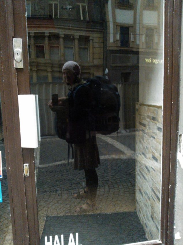 Backpacking Europe: morning in Prague.