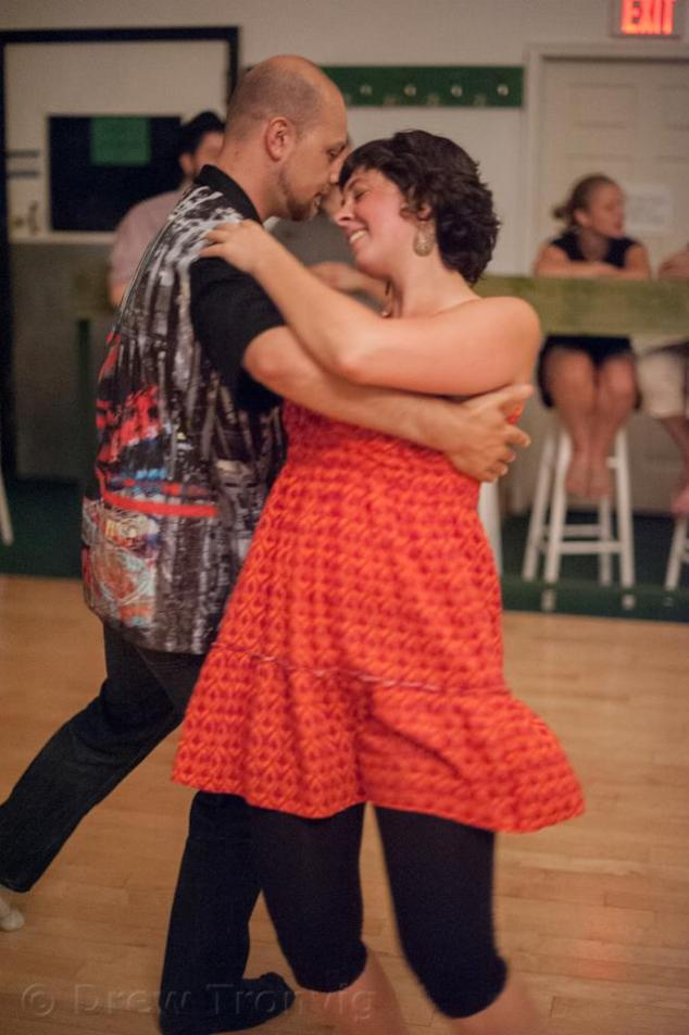 Dancing in Portland, 2012.